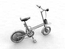 Small Wheel Bicycle 3d model