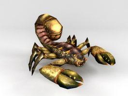 Evil Scorpion 3d model