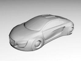 Audi RSQ Concept Car 3d model
