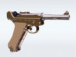 Luger Pistol 3d model