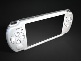 PSP 3000 Game Console 3d model