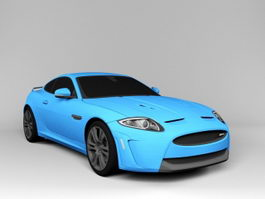 Jaguar XKR-S Coupe 3d model