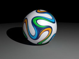 Brazuca Football 3d preview