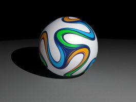 Brazuca Football 3d model