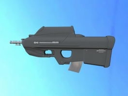 F2000 Tactical Rifle 3d model