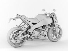 Buell XB9S 3d model