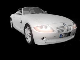 BMW Z4 E85 Sports Car 3d model