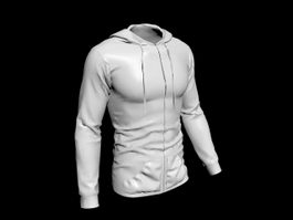 Fleece Jacket 3d model