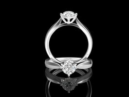 Diamond Engagement Rings 3d model