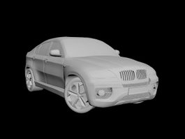 BMW X6 SUV 3d preview