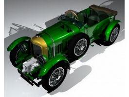 1930 Blower Bentley 3d model