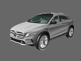 Mercedes-Benz GLA-Class SUV 3d preview