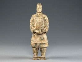 Terracotta Soldier Statue 3d preview