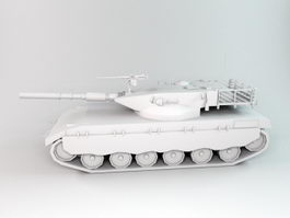 WW2 German Tank 3d preview