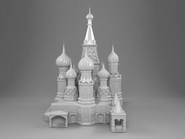 Cathedral Architecture 3d model