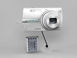Olympus μ780 Digital Camera 3d preview