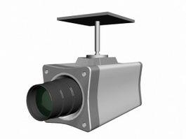Ceiling Surveillance Camera 3d preview