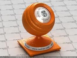 Orange Peel vray material