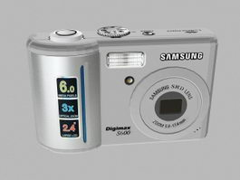 Samsung Digimax S600 Digital Camera 3d preview