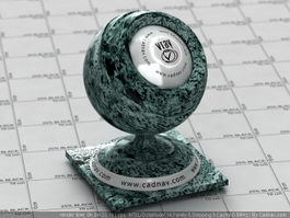 Empress Green Marble vray material
