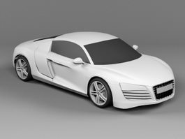 Audi R8 FSI Coupe 3d preview