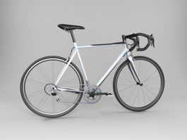 Road Racing Bicycle 3d model