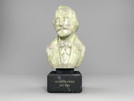 Bust of Giuseppe Verdi 3d preview