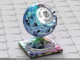Colorful Mosaic Tile vray material