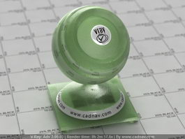 Green Grape Juice vray material