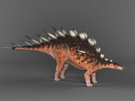 Kentrosaurus Dinosaur 3d preview