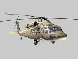 UH-60 Black Hawk 3d preview