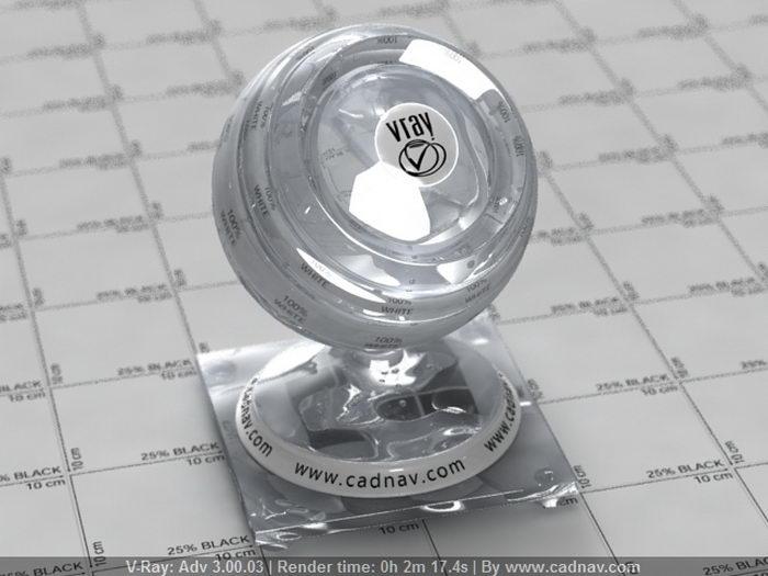 Transparent Water material rendering