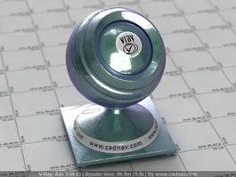 Carpaint Metallic Harlequin vray material