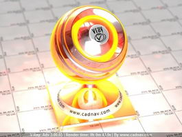 Hot Liquid Metal vray material