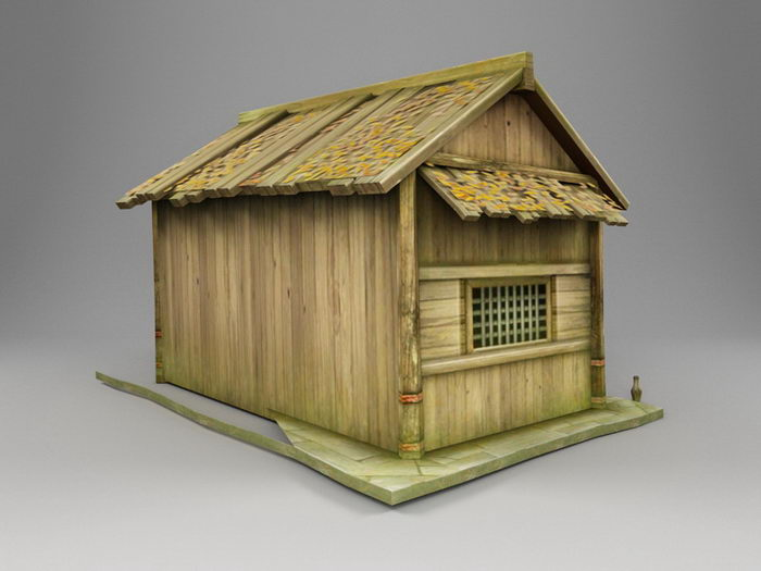 China Traditional Chinese House 3d rendering