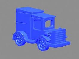 Classic Automotive 3d preview