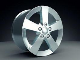 Automotive Rim 3d preview