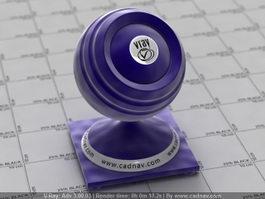 Purple-colored Velvet Fabric vray material