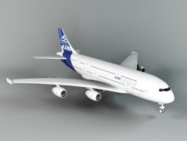 A380 Airliner 3d preview