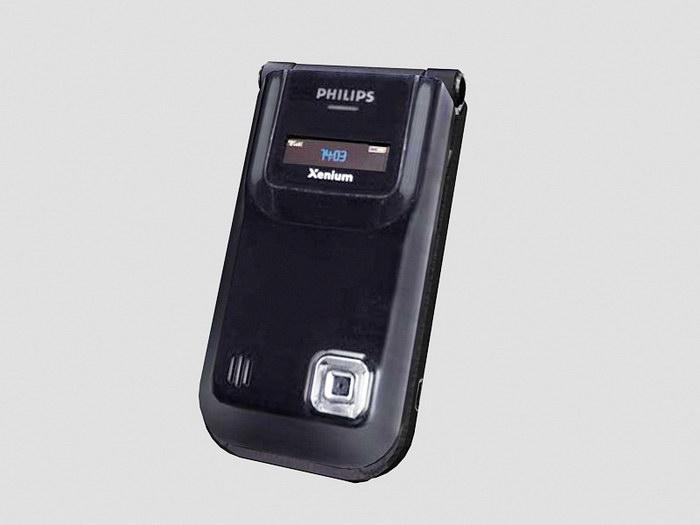 Philips Xenium 9@9r 3d rendering