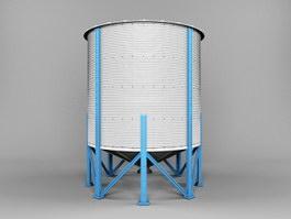 Grain Silo 3d preview
