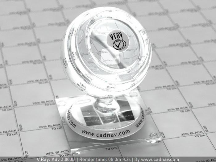 Lead Crystal Glassware material rendering