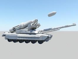 Futuristic Super Tank 3d preview