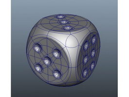 Cube Dice 3d preview