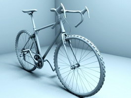 A Racing Bicycle 3d preview