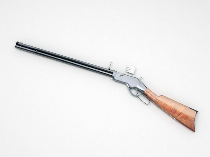 Henry Rifle 3d rendering