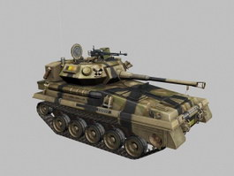Alvis FV101 Scorpion Light Tank 3d preview