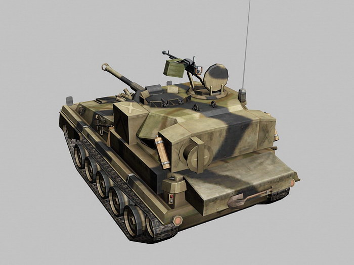 Alvis FV101 Scorpion Light Tank 3d rendering