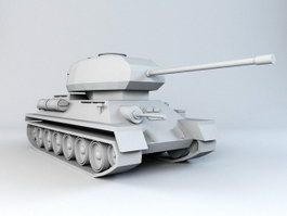 Tank Modeling 3d preview