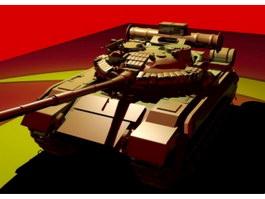 Soviet Union T-80 Tank 3d preview